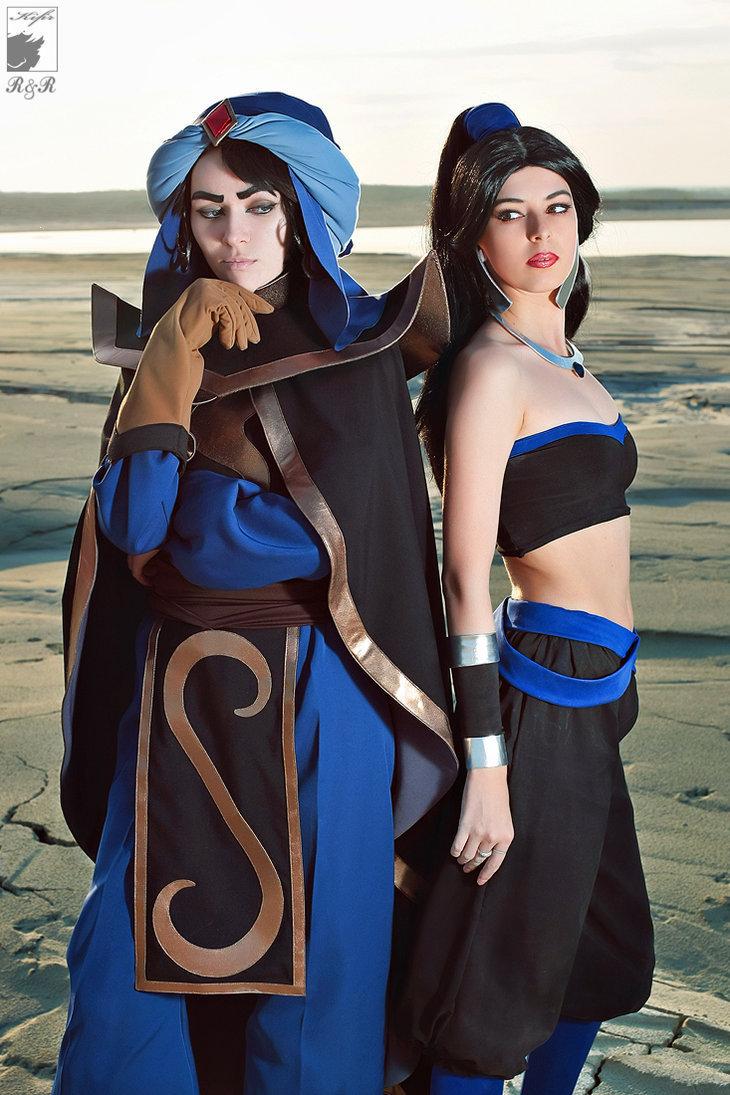 Mozenrath and Scourge(Jasmine)