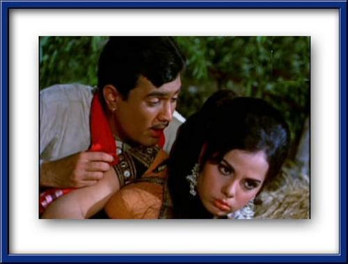 Mumtaz & Super 星, 星级 Rajesh Khanna in Bandhan - 1969
