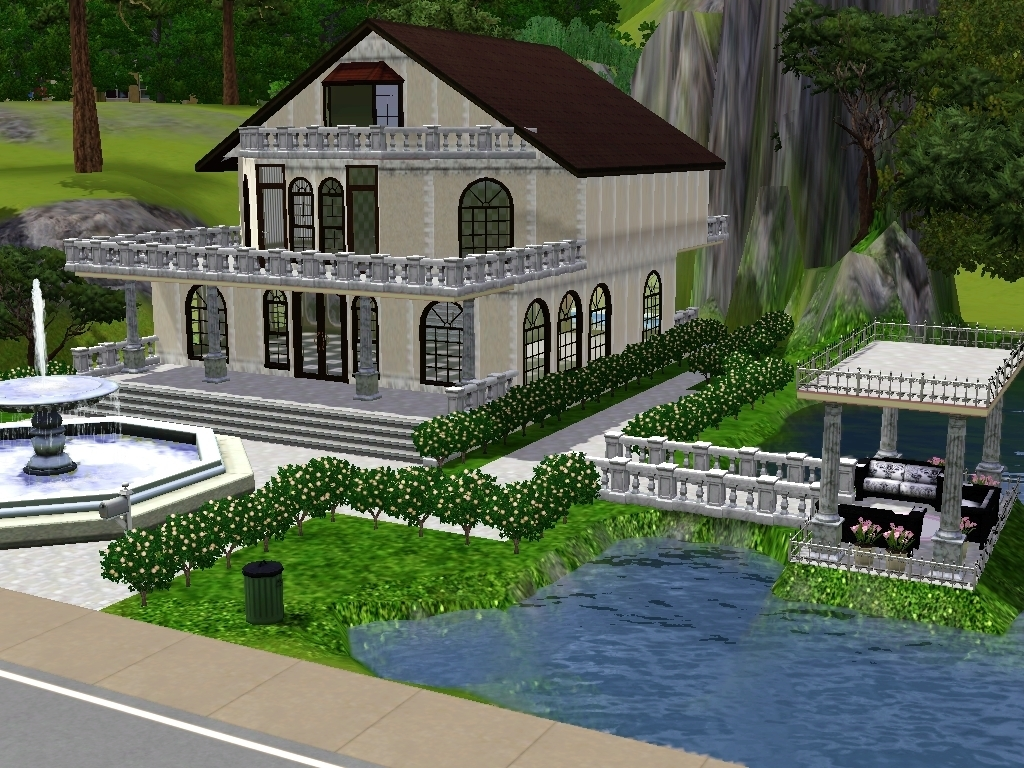 My interior design house2 the sims 3 photo 18734672 for Design my home
