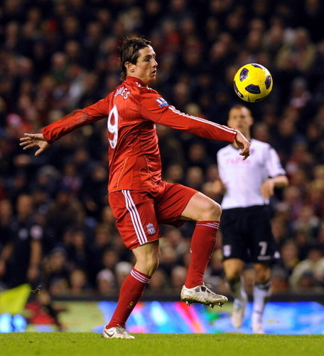 Nando - Liverpool(1) vs Fullham(0) - fernando-torres Photo