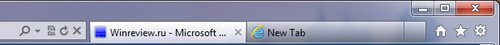 New IE9 Tabs