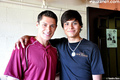 New/Old Pic of Kiowa Gordan and Alex Meraz at Vampire Baseball (2009) - twilight-series photo