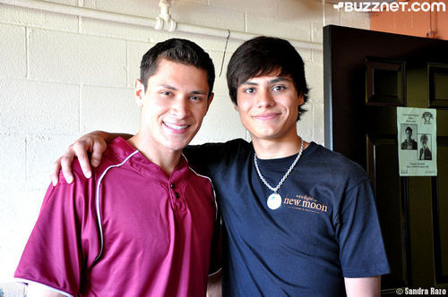 New/Old Pic of Kiowa Gordan and Alex Meraz at Vampire Baseball (2009)