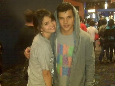 New/Old Pic of Taylor Lautner with Selena Gomez
