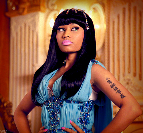 Nicki - 'Moment For Life' video stills - Nicki Minaj 500x464