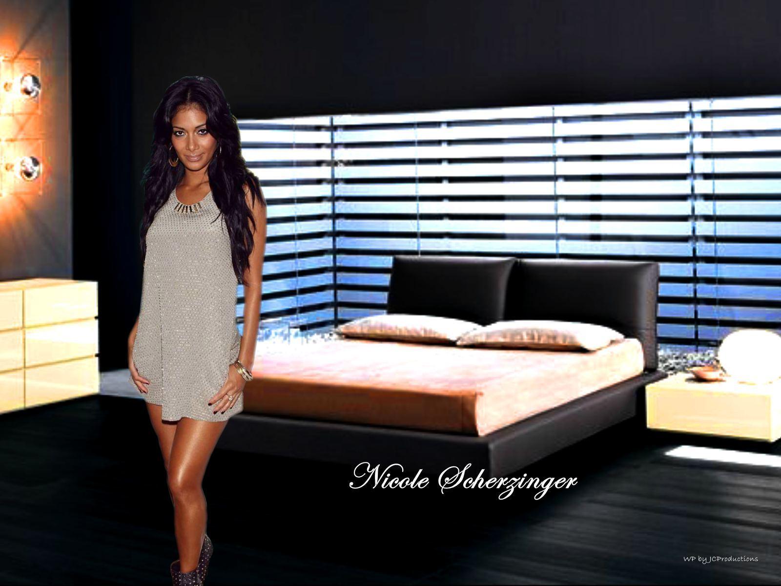 Nicole In The Bedroom