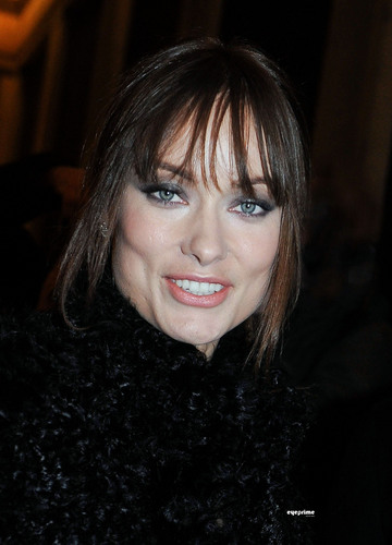 Olivia Wilde @ the Armani Show @ Paris Fashion Week 2011