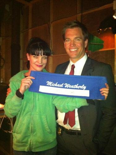 Pauley and Michael Weatherly