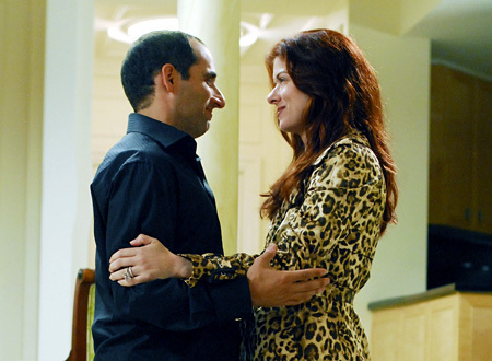 Peter Jacobson & Debra Messing