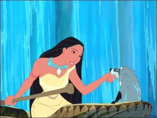 Disney Females wolpeyper titled Pocahontas