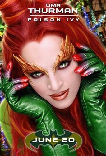 poison ivy batman. uma thurman poison ivy