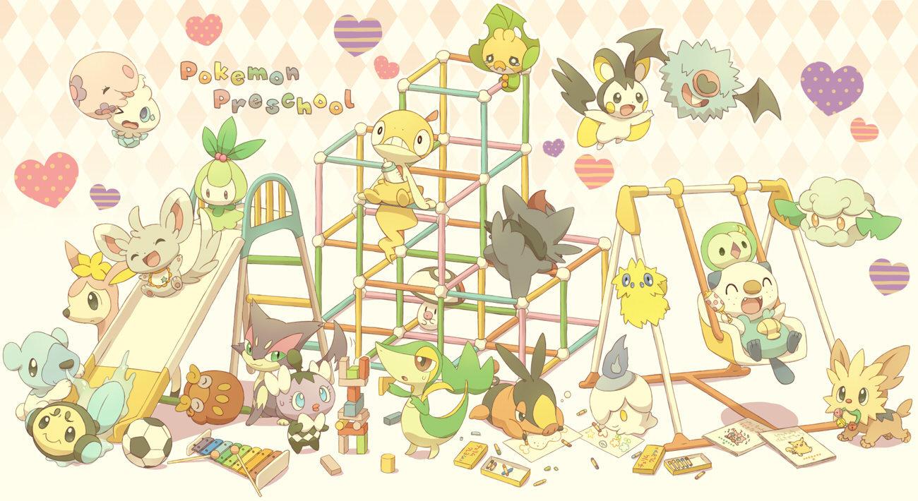 Pokemon Pre-School