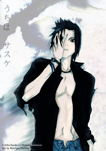 Sasuke Uchiha Handsome - anime-guys Photo