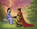 Shang & Mulan - disney-prince photo