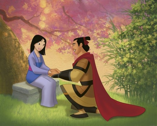 disney Prince wallpaper entitled Shang & mulan