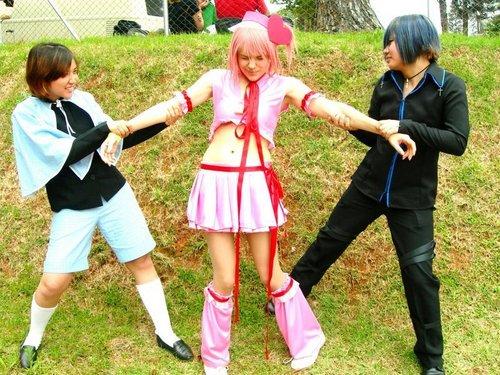 Shugo Chara cosplay