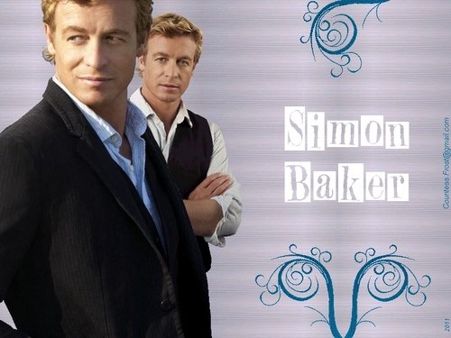 Simon Baker Hintergrund containing a business suit titled Simon Baker