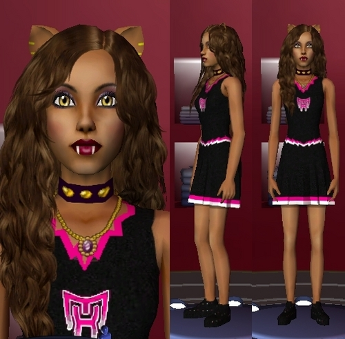 The Sims 3 Обои titled Sims 3 Monster High