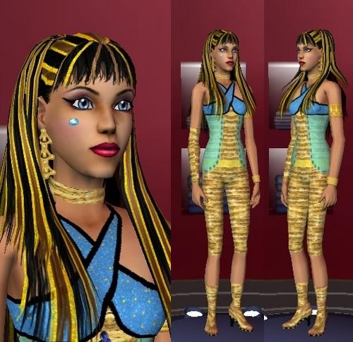 Sims 3 Monster High