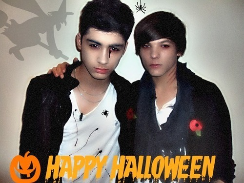 Sizzling Hot Zayn & Funny Louis (Happy Dia das bruxas Every1) 100% Real :) x