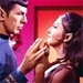 Spock and Romulan Commander
