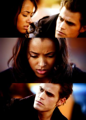 Stefan and Bonnie