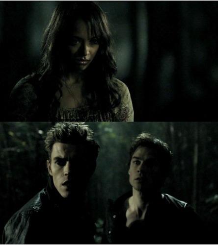 Stefan bonnie and Damon