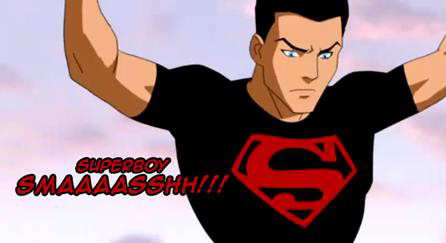 Young Justice wallpaper possibly with Anime entitled Superboy