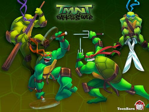 Teenage Mutant Ninja Turtles Wallpaper Called TMNT WALLPAPERS