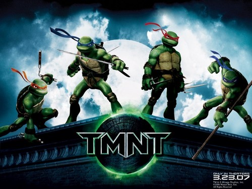Teenage Mutant Ninja Turtles wallpaper possibly containing anime titled TMNT WALLPAPERS