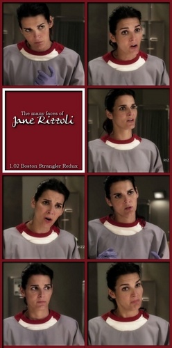 The Many Faces of Jane Rizzoli