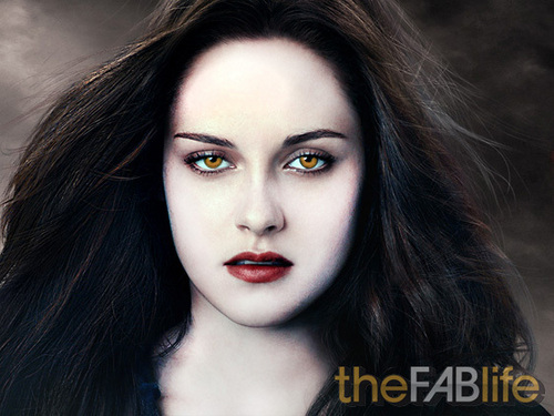 Twilight-Serie Hintergrund probably containing a portrait entitled TheFABLife's Rendition Of Vampified Bella Cullen
