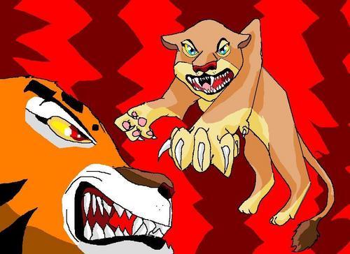 tigresa and Nala
