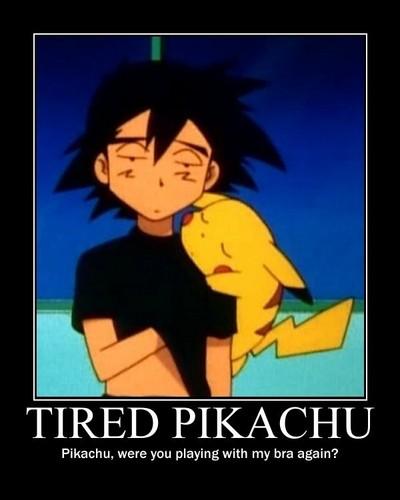 Tired Pikachu
