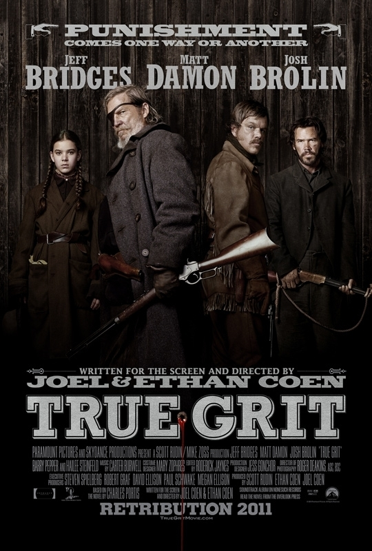 true grit paper There is a moment in true grit when john wayne and four or five bad guys confront each other across a mountain meadow the situation is quite clear: someone will have to back up or die.