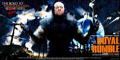 Undertaker Royal Rumble 2011