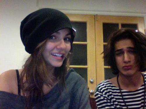 Victoria & Avan fooling around