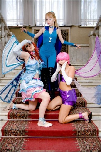Winx cosplay