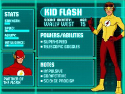 Young Justice Bios