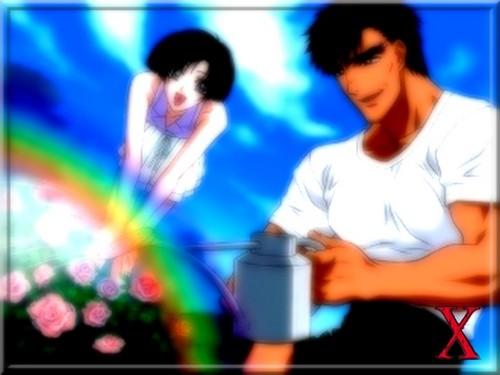 Yuzuriha and Kusanagi