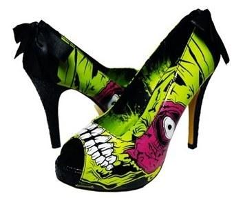 Women's Shoes wallpaper titled Zombie Shoes