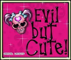 evil but cute