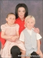 littleprince&parisand daddy michael - michael-jackson photo