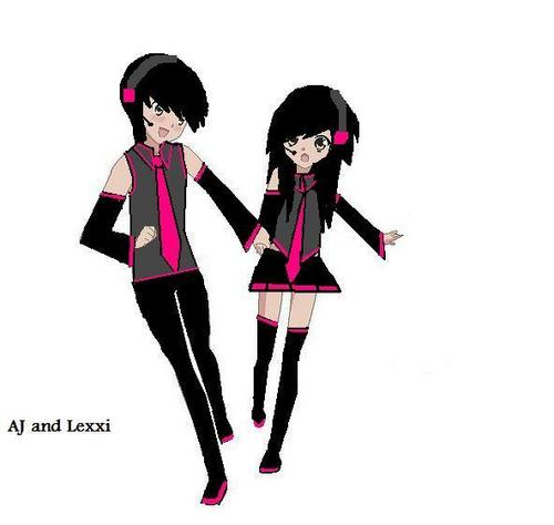 me and my friend :3