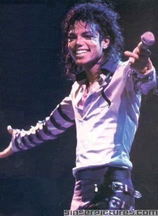 mj on stage
