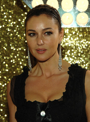 monica bellucci wallpaper probably with a koktil, koktail dress, a chemise, and a blus called monica bellucci