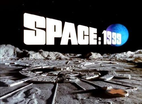 Space 1999 wallpaper probably with a street, a sign, and a carriageway called moonbase alpha