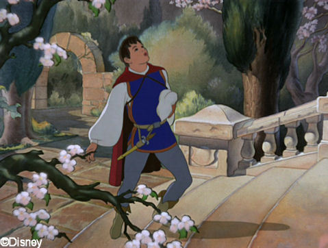 Snow White and the Seven Dwarfs wallpaper titled prince charming.