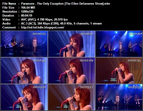 the only exception live