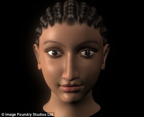 the real face of Cleopatra